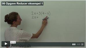 06 Reducer eksempel 1